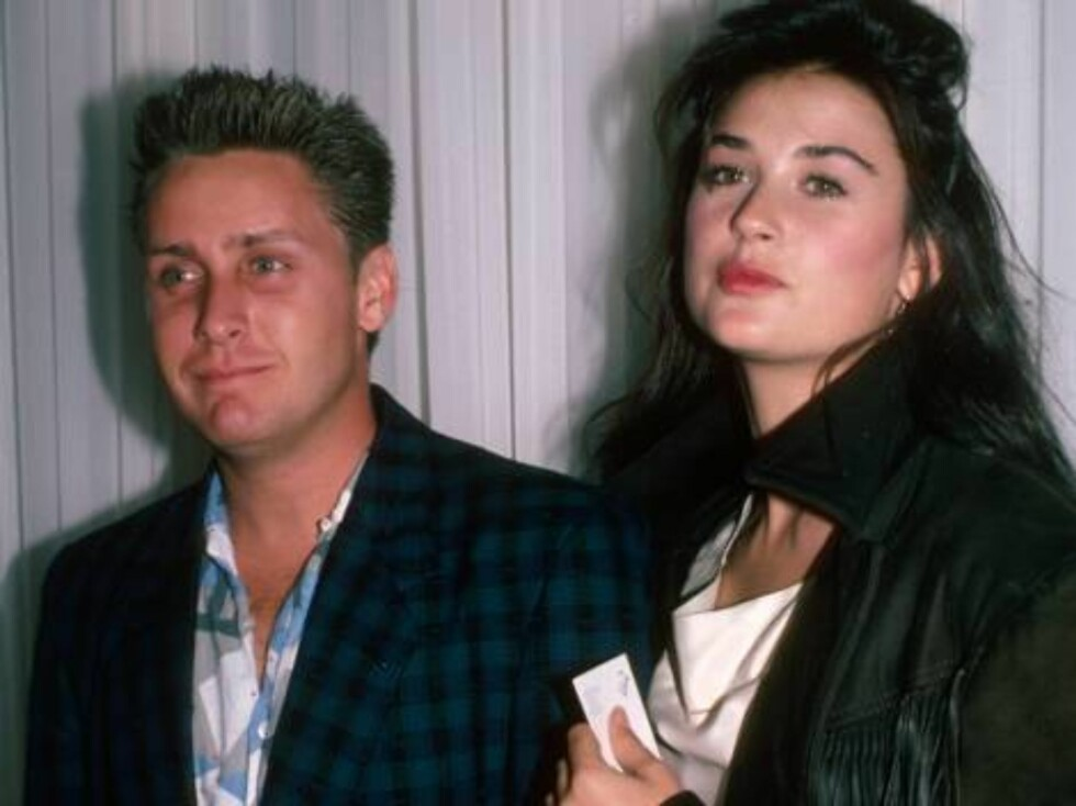 No 50738065 Actors Emilio Estevez and Demi Moore.  (Photo by Ann Clifford/DMI/Time Life Pictures/Getty Images) Foto: All Over Press