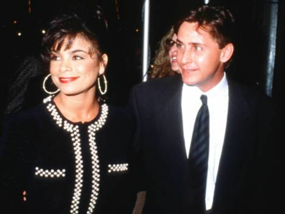 No 769217 124115 01: Pop singer Paula Abdul walks with Emilio Estevez January 16, 1992 in Los Angeles, CA. Abdul, who got her start as an Los Angeles Lakers cheerleader, has acted and choreographed videos for George Michael, Janet Jackson, Debbie Gibson, Foto: All Over Press