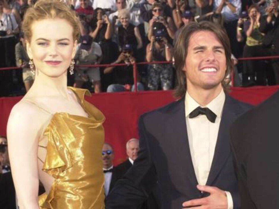 366508 02:  FILE PHOTO:  Actors Tom Cruise and Nicole Kidman arrive at the 72nd Annual Academy Awards March 26, 2000 in Los Angeles, CA. Cruise and Kidman, one of the Hollywood's best-known couples, announced February 5, 2001 that they are separating afte Foto: All Over Press