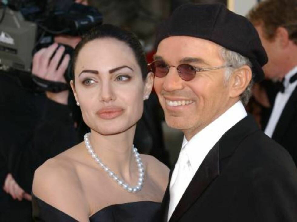 399817 98:  Actors Angelina Jolie and Billy Bob Thornton attend the 59th Annual Golden Globe Awards at the Beverly Hilton Hotel January 20, 2002 in Beverly Hills, CA.  (Photo by Vince Bucci/Getty Images) ALL OVER PRESS Foto: All Over Press