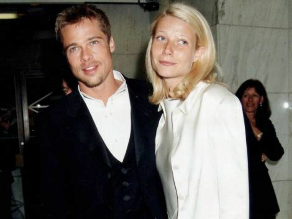 LONDON - APRIL 26:  Actors Brad Pitt and Gwyneth Paltrow on April 26, 1995 in London. (Photo by Dave Benett/Getty Images) / ALL OVER PRESS Foto: All Over Press