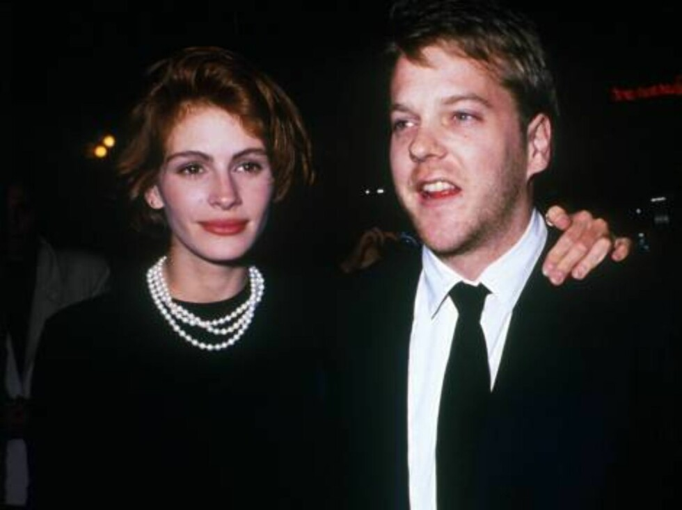 No 742599 094249 01: Actress Julia Roberts and actor Kiefer Sutherland arrive at an event in Los Angeles, CA., March 15, 1991. (Photo by Kip Rano/Liaison) Getty Images North America Foto: All Over Press