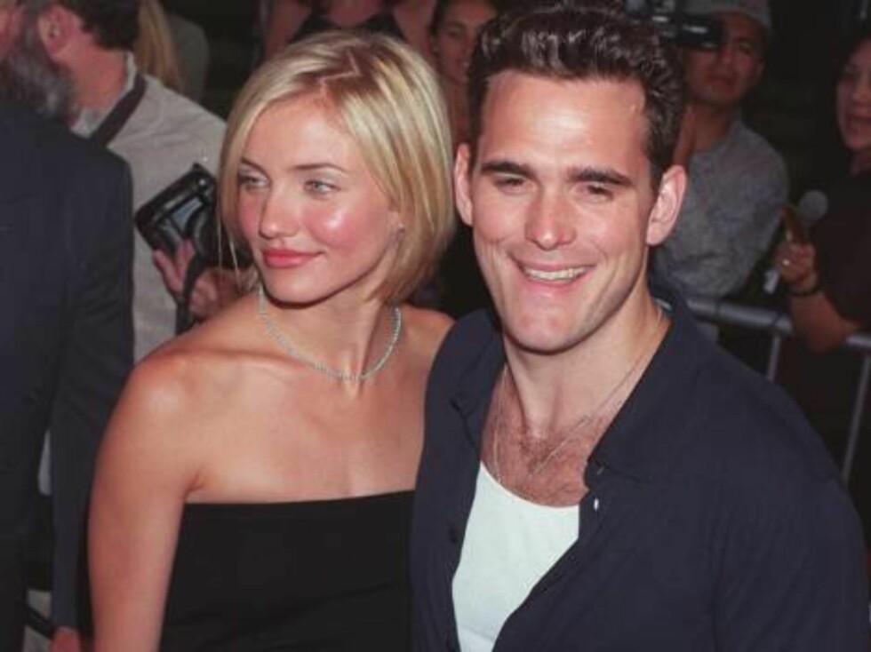 HADDE NORSK KJÆRESTE: Hollywood-stjernen Matt Dillon var en periode kjæreste med norske Sofie Cappelen. Foto: All Over Press