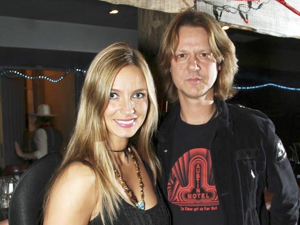 SLUTT: Forholdet mellom Liv Marit og Hellbillies-vokalist Aslag Haugen er over. Foto: Tore Skaar, Se og Hør