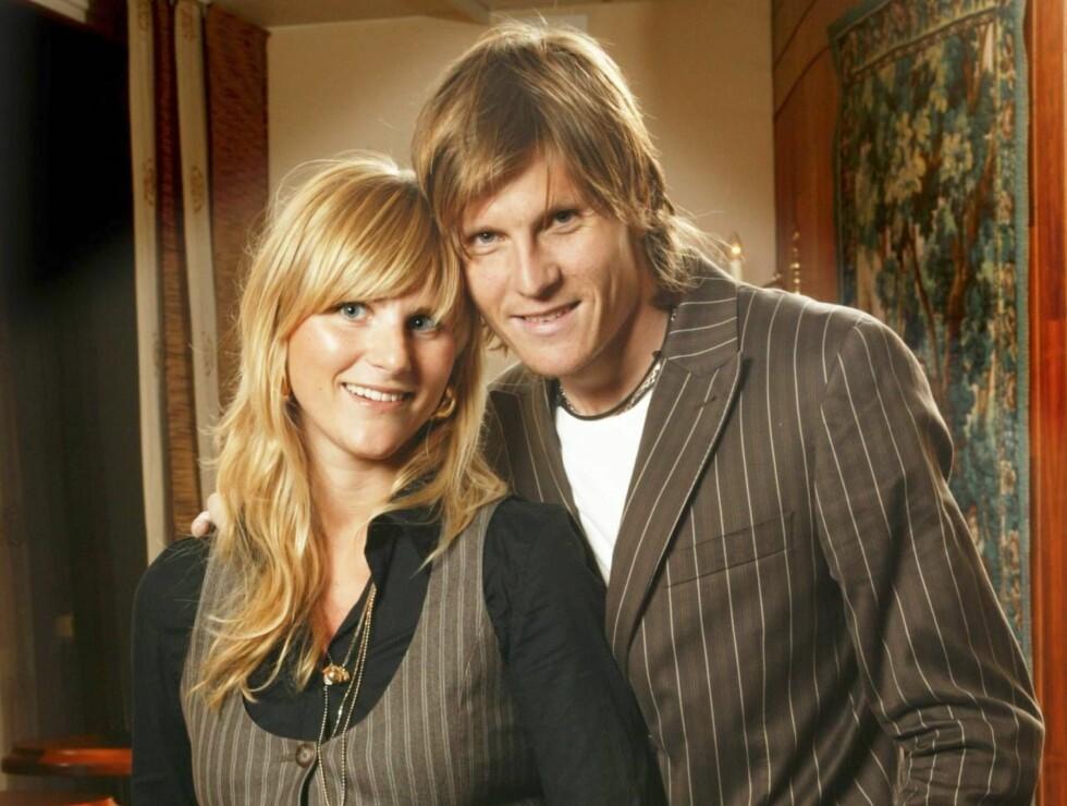 GIFT I JAPAN: Frode Johsen og Mette Sundland ble i natt et ektepar. Foto: Arne Nordtømme