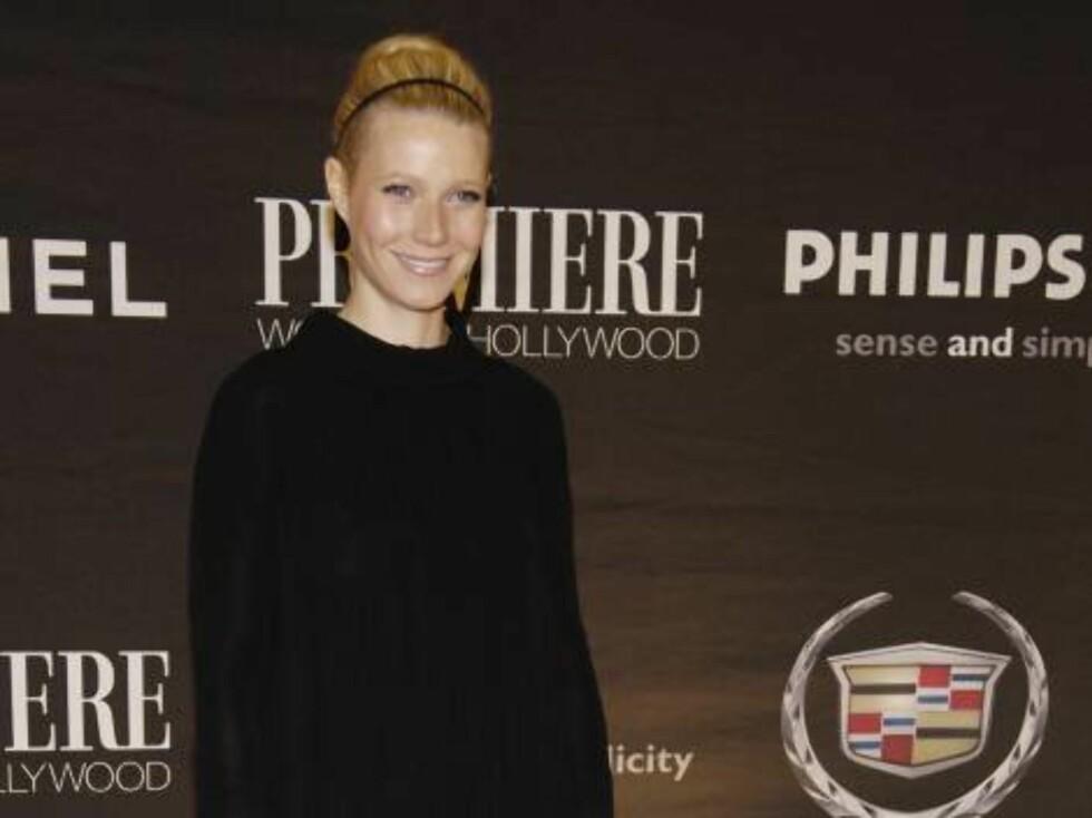 Oscar-vinneren Gwyneth Paltrow. Foto: AP/Scanpix