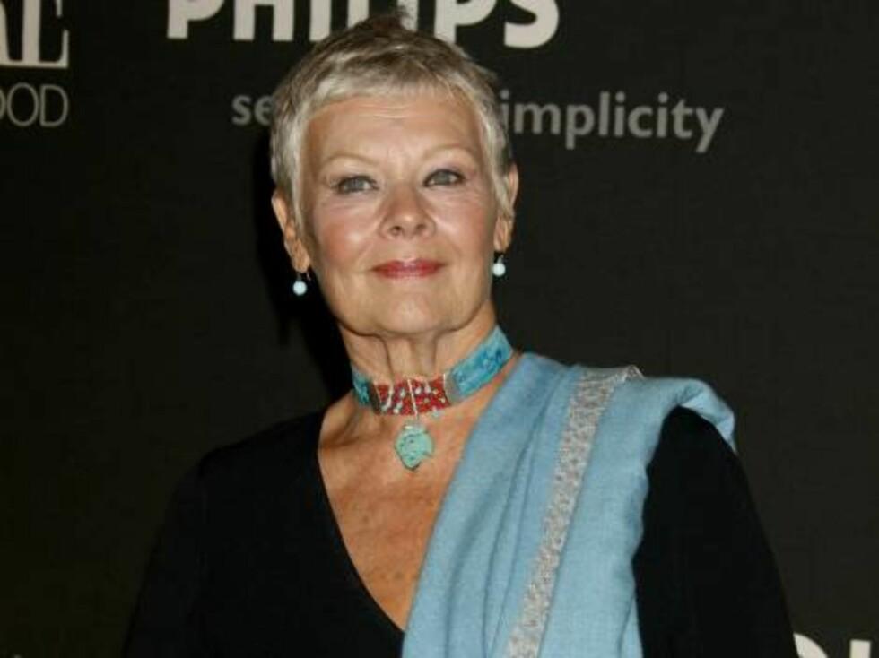 Mrs Henderson presenterer-stjernen Judy Dench. Foto: AP/Scanpix