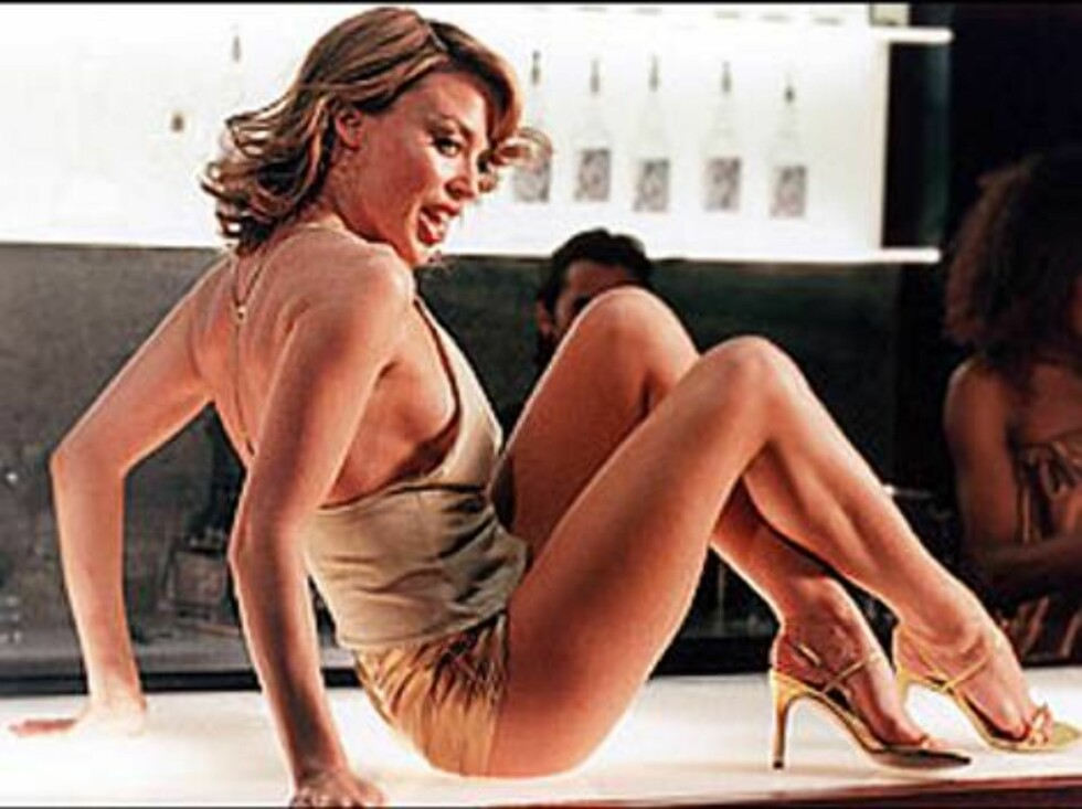 """5. Kylie Minogues """"Spinning Around"""". Foto: Fra videoen"""