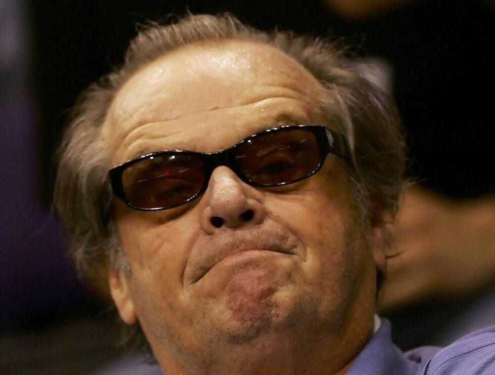 ENERGISK: Jack Nicholson vil ha mye sex i filmene sine. Veldig mye. Foto: All Over Press