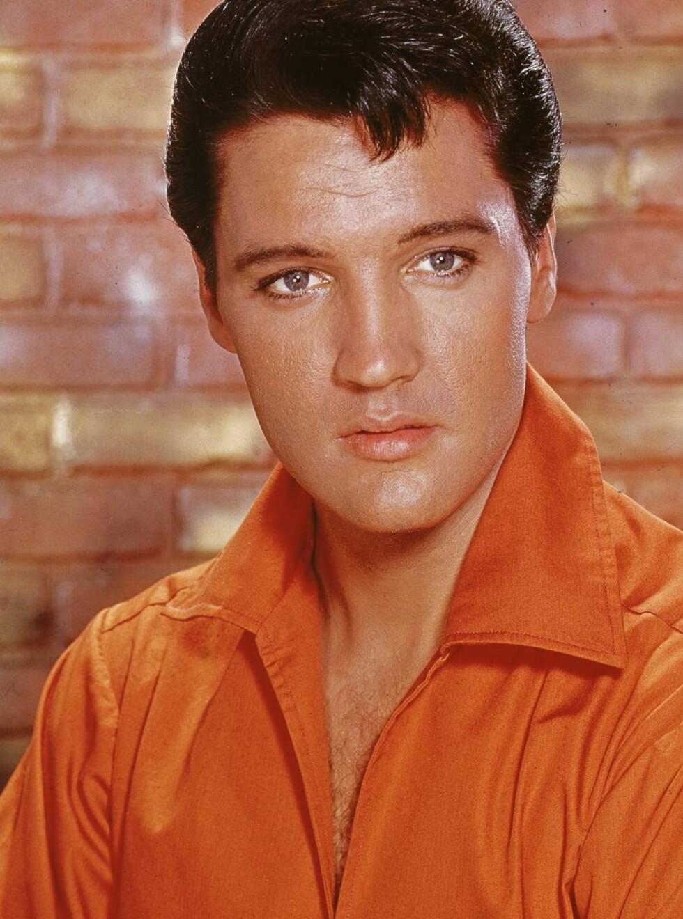POPULÆR: Men Elvis må nøye seg med en tiende plass. Foto: All Over Press