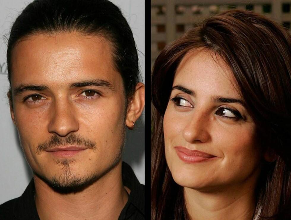 HETT PAR? Begge elsker kjendiser, og etter brudd på hver sin kant skal de ha funnet tonen sammen! Foto: ALL OVER