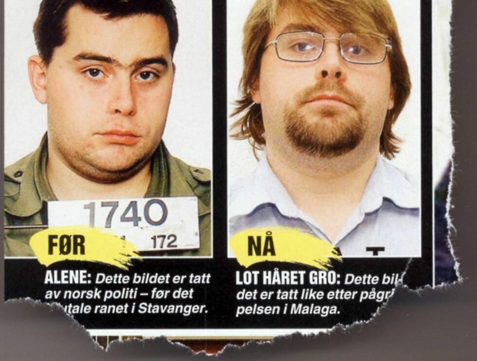 TATT: David Toska er dømt til 19 års fengsel for NOKAS-ranet. Foto: Faksimile