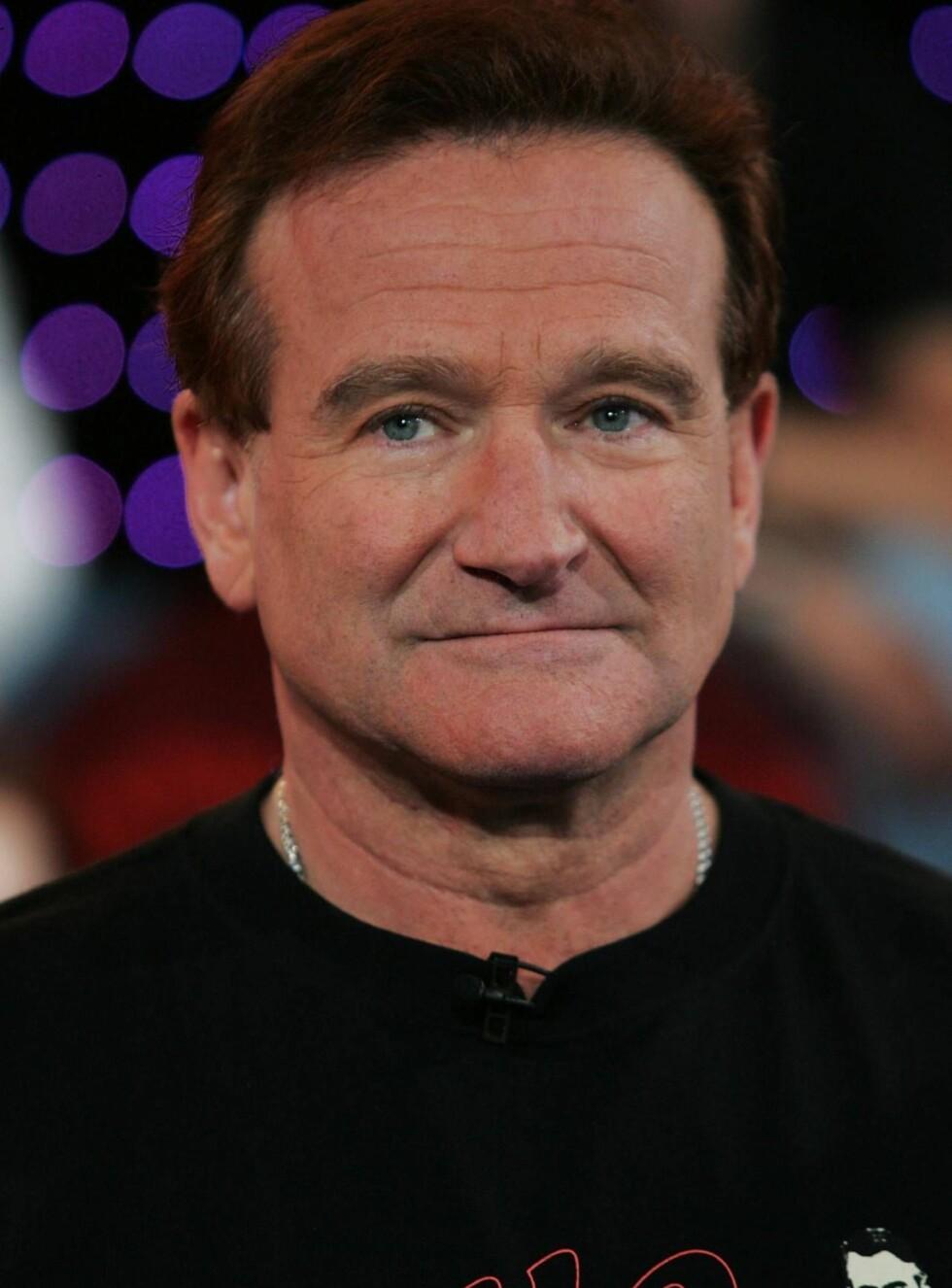 TUNG TID: Nå skal Robin Williams prøve å komme på rett kjøl igjen. Foto: All Over Press