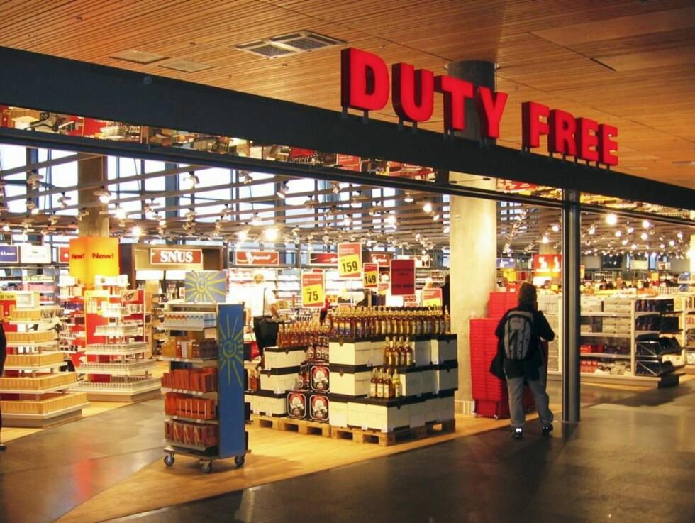 SPAR VED ANKOMST: Du kan spare store summer på å handle ved taxfreebutikken på Gardermoen når du kommer fra utlandet. Foto: Travel Retail