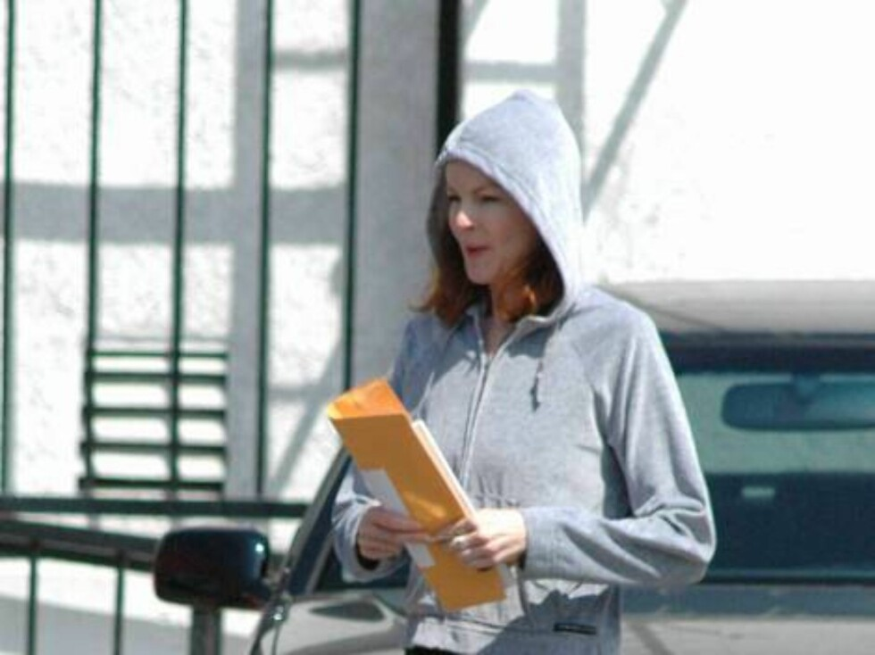 Code: X17XX8 - no code, Santa Monica, USA, 19.04.2005: Marcia Cross hits the gym and shows a skinnier and skinnier body like her Desperate Housewives costar Teri Hatcher. All Over Press / X17 Agency / ALL OVER PRESS Foto: All Over Press