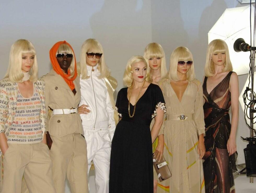 DESIGNER: Gwen Stefani gjør det stort som designer. Foto: Stella Pictures