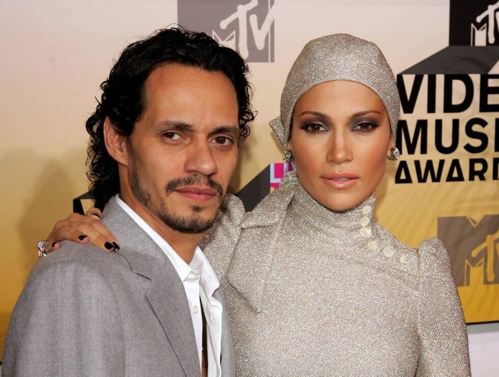 FRYKTER FOR HELSA: Jennifer Lopez frykter Marc Anthonys lave kroppsvekt skal føre til helseskader. Foto: All Over Press