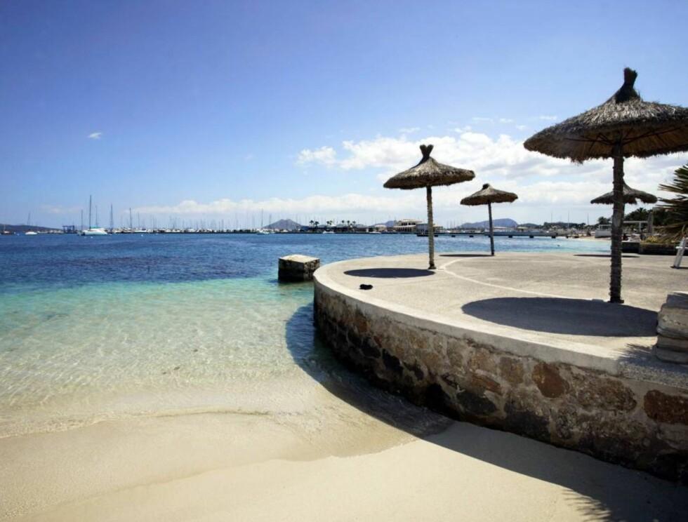 BADEIDYLL: Strandpromenaden byr på badeopplevelser utenom det vanlige.. Foto: Se og Hør