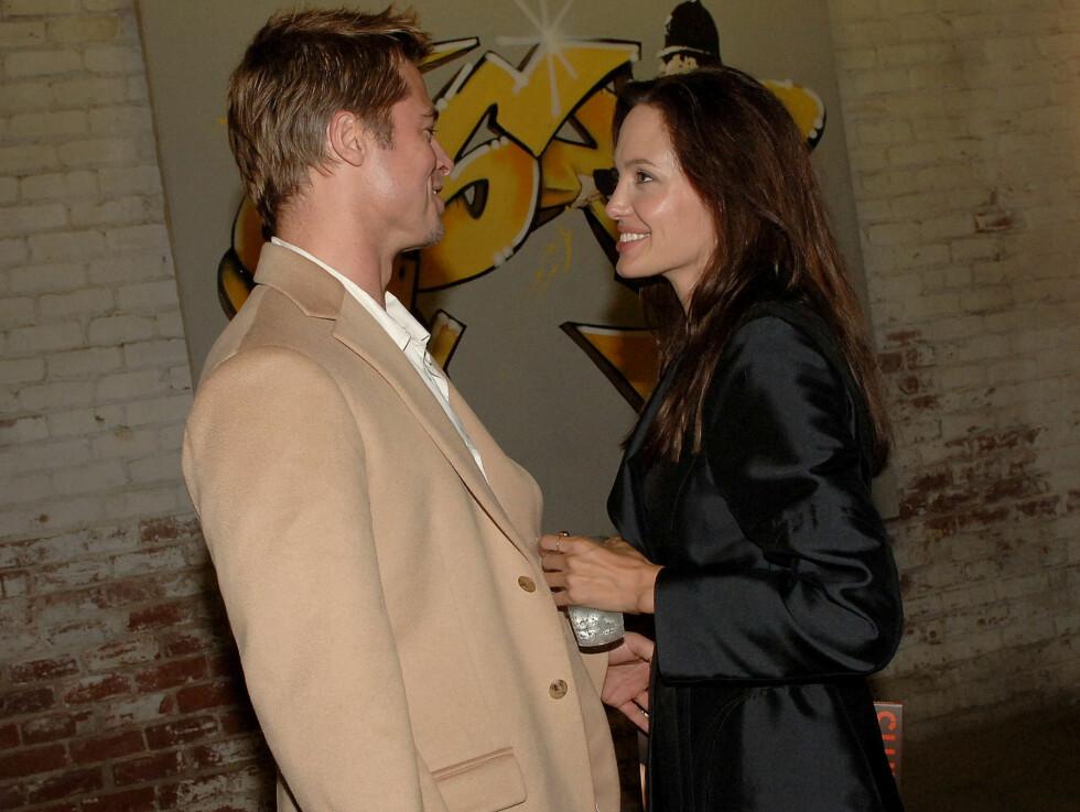 KOM HIT, SØTEN: Angelina klarte ikke å slippe kjæresten av syne. Foto: Stella Pictures