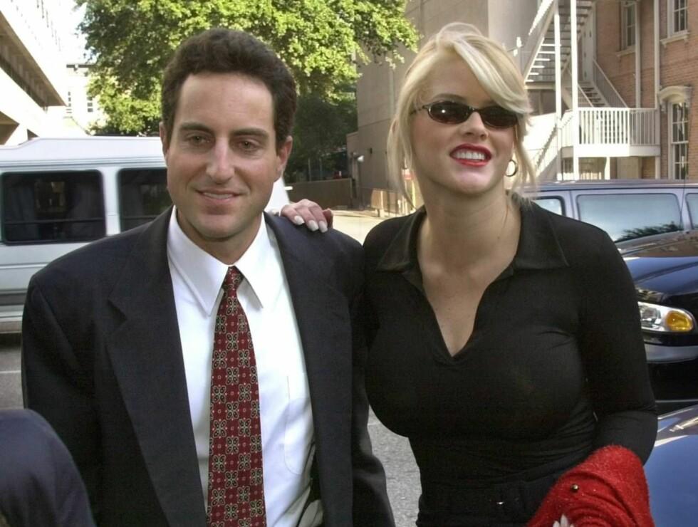 VAR SAMMEN: Advokat Howard K. Stern skal ha vært sammen med Anna Nicole Smith da sønnen hennes døde. Foto: AP