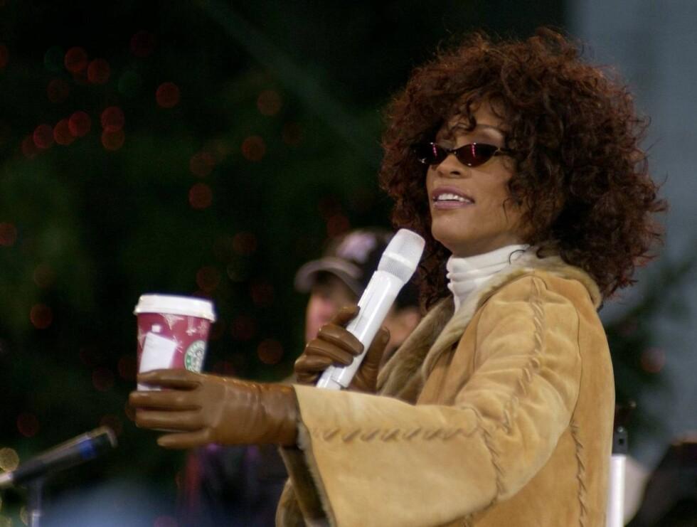 HAR DU EN SLANT, MISTER?: Whitney Houston lengter nok tilbake til glansdagene på 80- og 90 -tallet... Foto: All Over Press