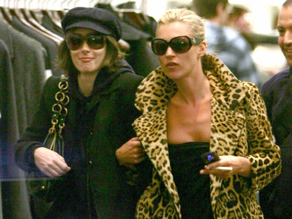 TRAVLE: De elsker begge mote, og det var mål i blikket da de to entret Marc Jacobs. Foto: STELLA PICTURES