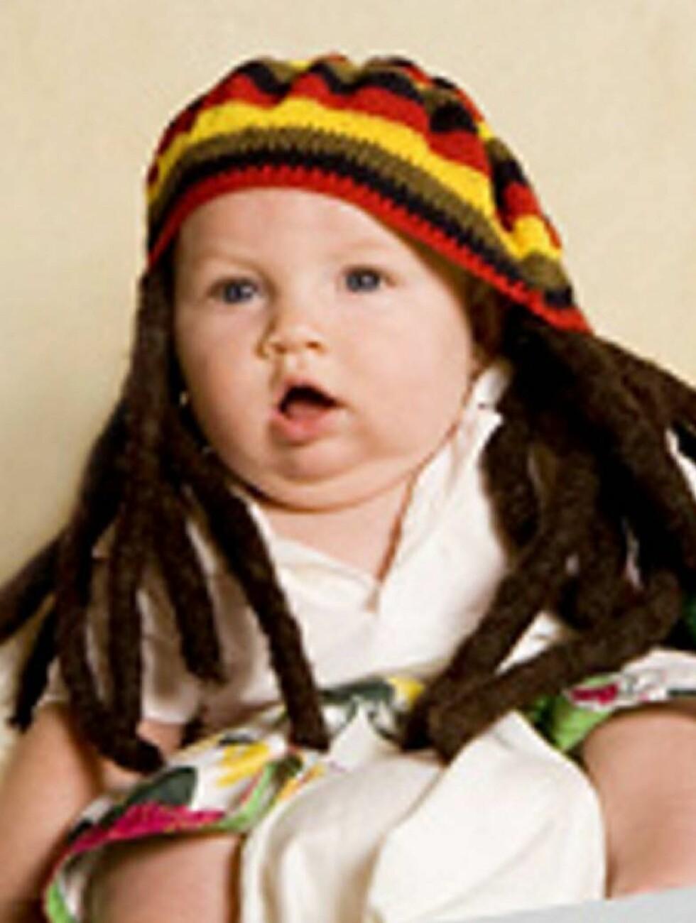 BOB: Hva med håret til Bob Marley? Foto: www.babytoupee.com