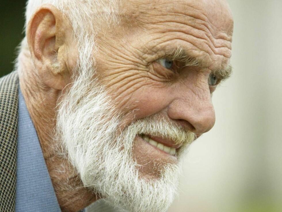 AVMAGRET: Sven O. skal opereres for lungekreft. Han har mistet 20 kilo, men ikke humøret.