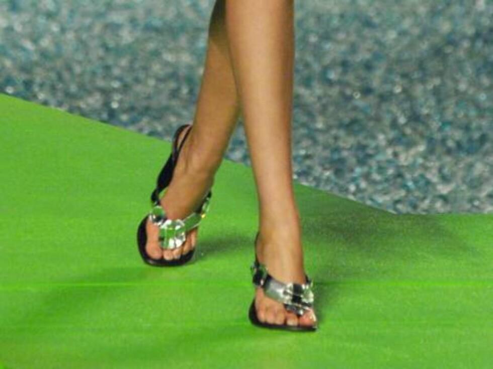 Flip-flops med en vri. Foto: Stella Pictures