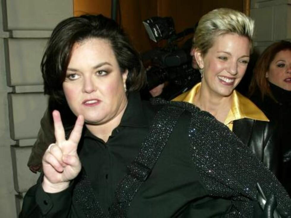 Rosie O'Donnell mener det. Foto: All Over Press