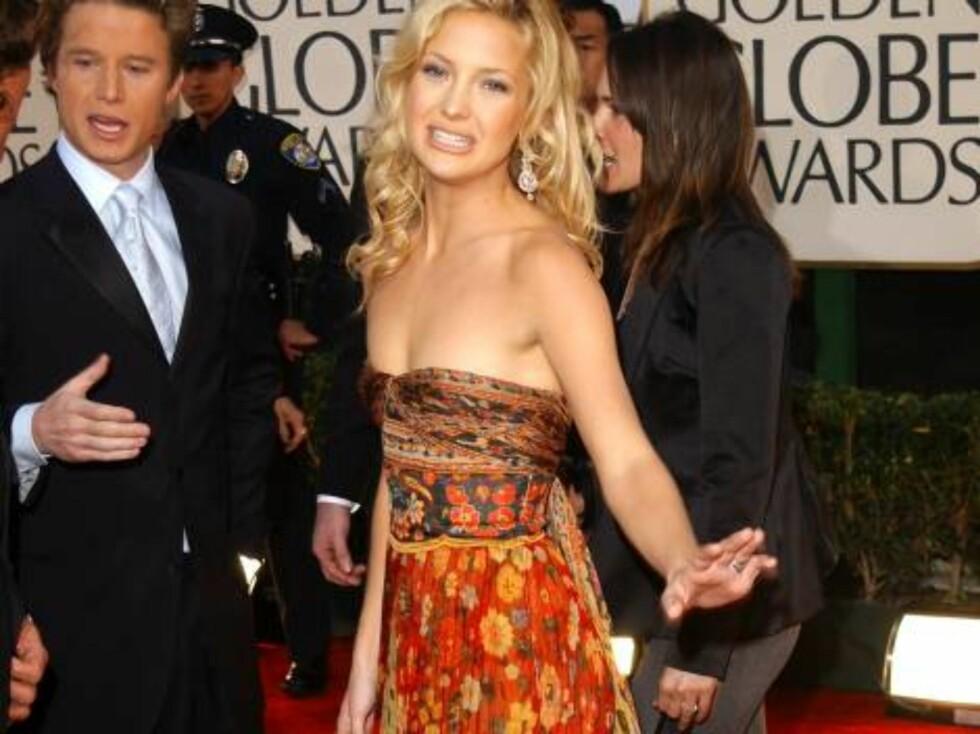 Skuespillerinnen Kate Hudson er Hollywoods favoritt-hippie. Foto: All Over Press