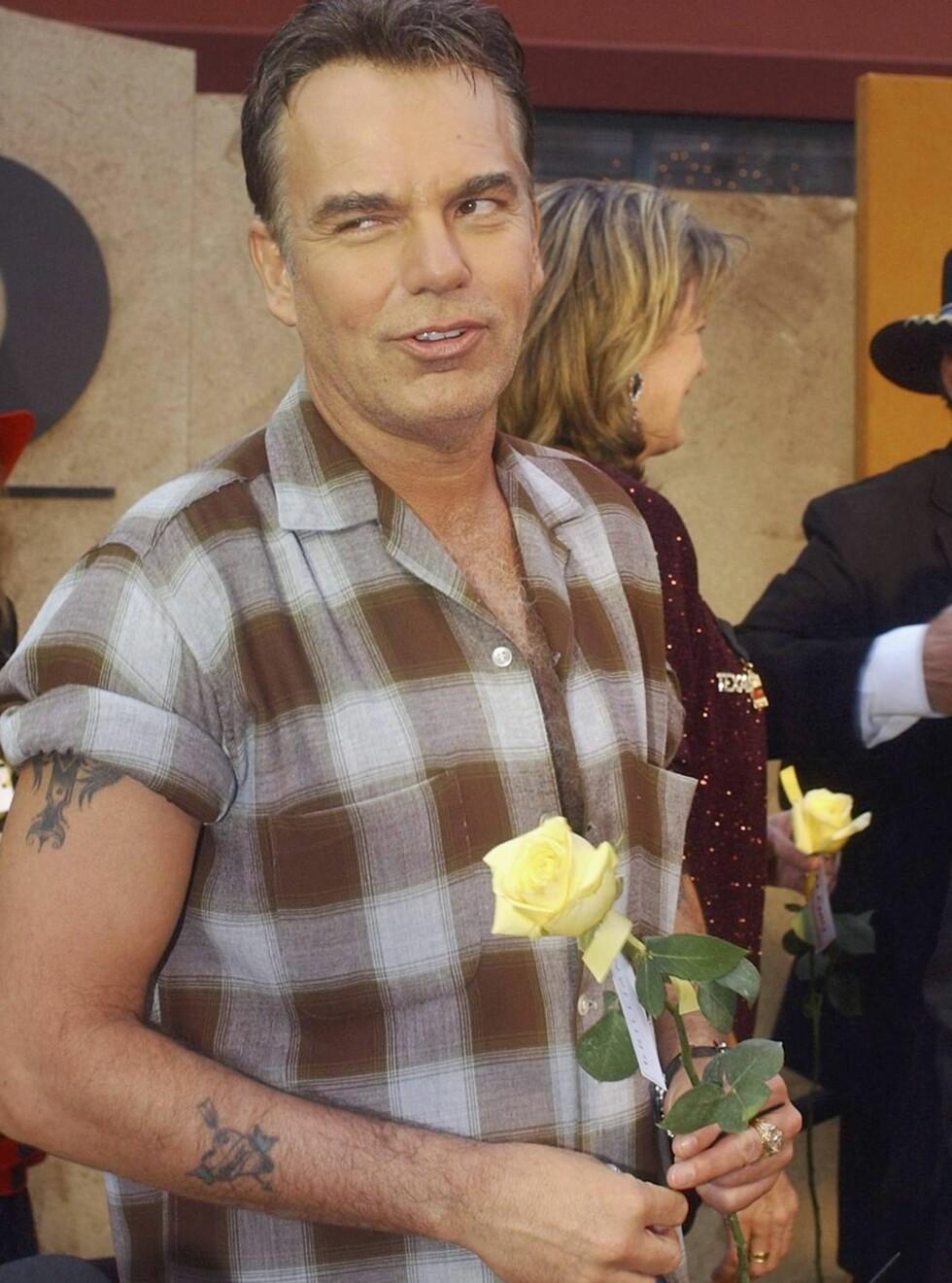 SKEPTISK: Billy Bob er ikke den slipsbærende typen... Foto: All Over Press
