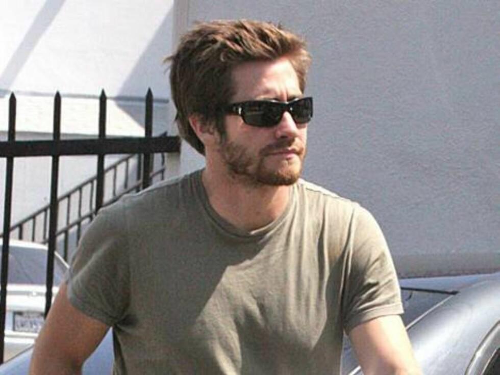 En lodden utgave av Brokeback Mountain-skuespilleren Jake Gyllenhaal. Foto: All Over Press