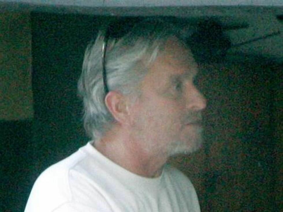 Skuespilleren Michael Douglas lar det grå skjegget gro. Foto: All Over Press