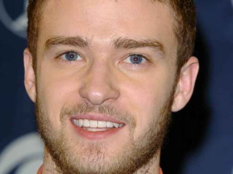 Popstjernen Justin Timberlake trår til med en tredagers. Foto: All Over Press