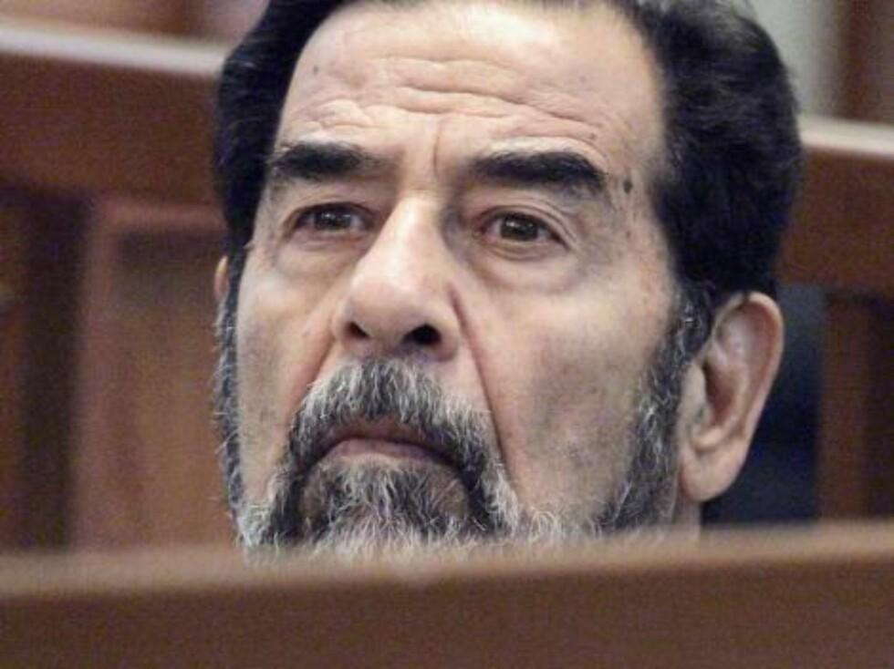 Saddams skjegg kommer i alle slags fargetoner.