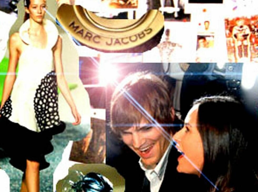 MOTE: Både Demi Moore og Ashton Kutcher fulgte spent med under visningen. Foto: Stella Pictures