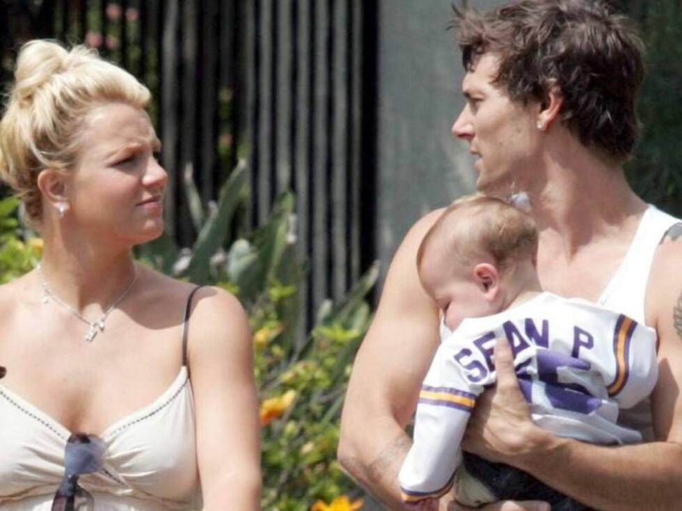 GIFT: Kevin jobbet tidligere som en av Britney Spears danserne. Det ga ham et par ekstra år i levetid. Foto: All Over Press