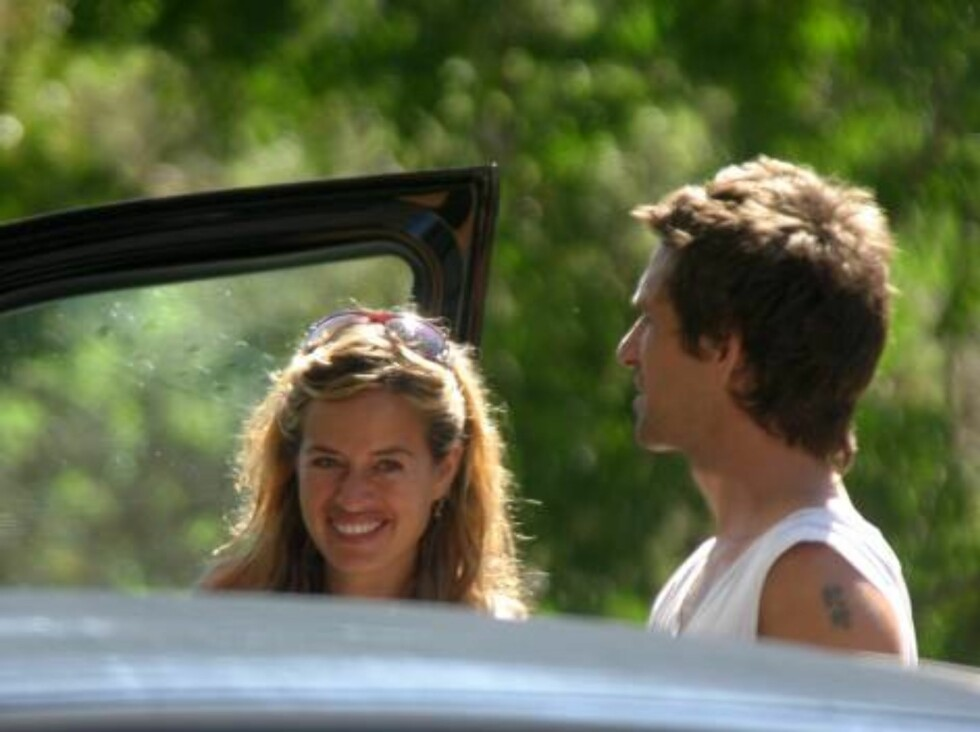 IBIZA 2006-09-04.  Jade Jagger goes topless on the beach while on holiday in Ibiza with her family.   Photo: DR  Code: 4009/C 140  COPYRIGHT STELLA PICTURES    Foto: Stella Pictures