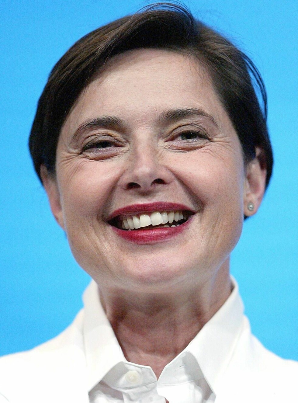 "LOS ANGELES - JULY 22:  Actress Isabella Rossellini of ""Earthsea"" speaks with the press during day two of the TCA Tour Cable at the Century Plaza Hotel on July 22, 2004 in Los Angeles, California. (Photo by Frederick M. Brown/Getty Images) / ALL OVER PRES Foto: All Over Press"