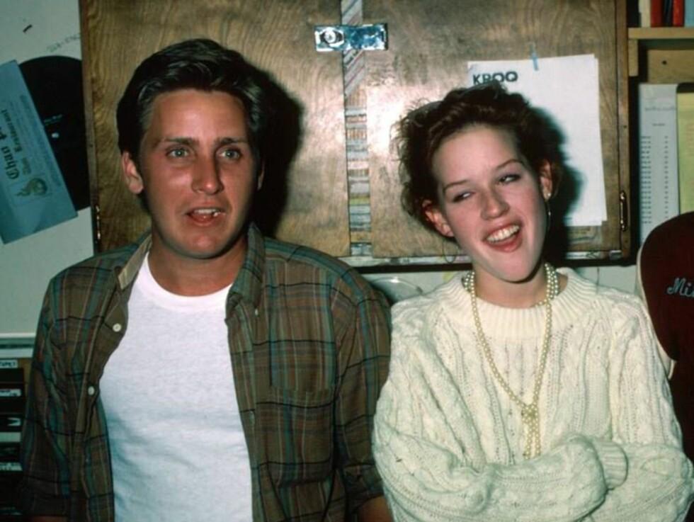 BRÅKEBØTTER: Emilio Estevez, Molly Ringwald og Judd Nelson hadde hovedrollene i tidenes beste high school-film. Foto: All Over Press