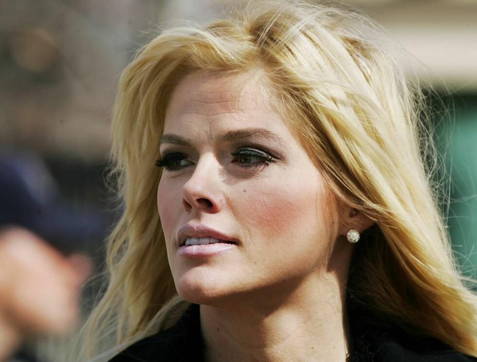 SØRGER: - Daniel er livet mitt. Uten ham er jeg ingenting, har Anna Nicole Smith tidligere uttalt ... Foto: AP/Scanpix
