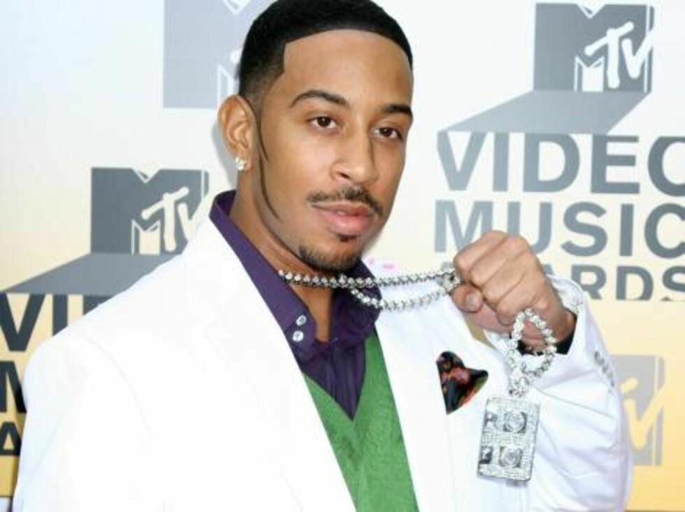 Rapperen Ludacris og kassetten hans. Foto: All Over Press