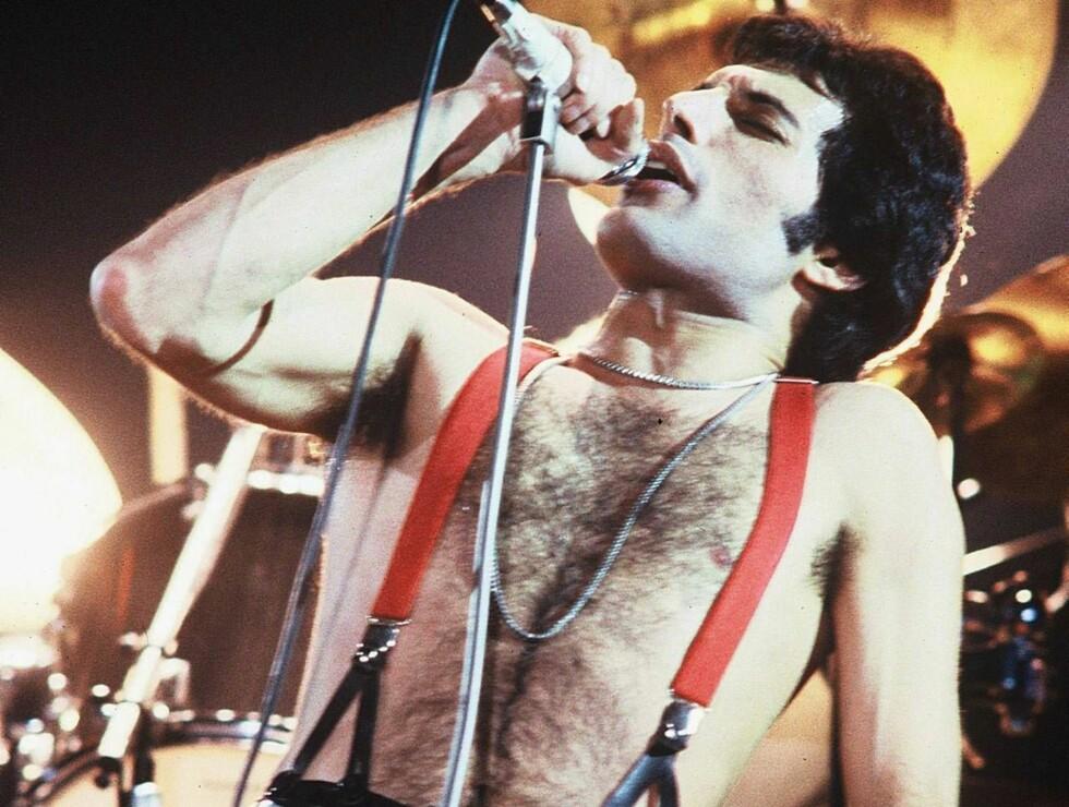SNAKKER UT: På det som ville vært hans 60-års dag snakker Freddie Mercury igjen - fra graven! Foto: All Over Press