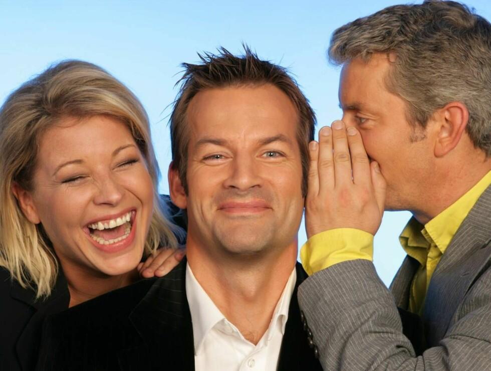 GULLKORT: Anne-Kat., Jon og Knut kan le hele veien til banken! Foto: NRK
