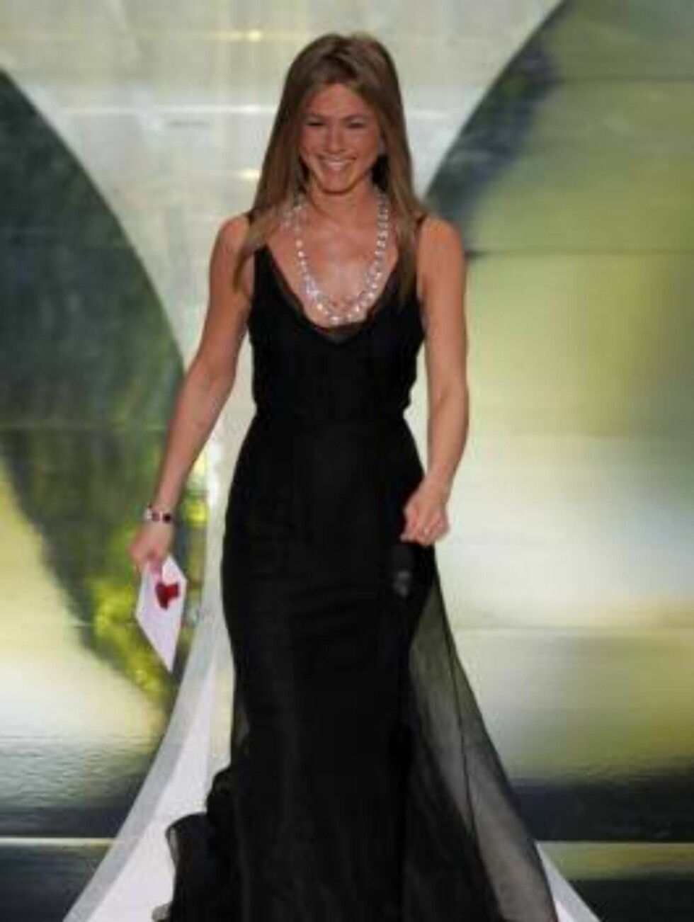På førsteplass kom vakre Jennifer Aniston. Foto: AP/Scanpix