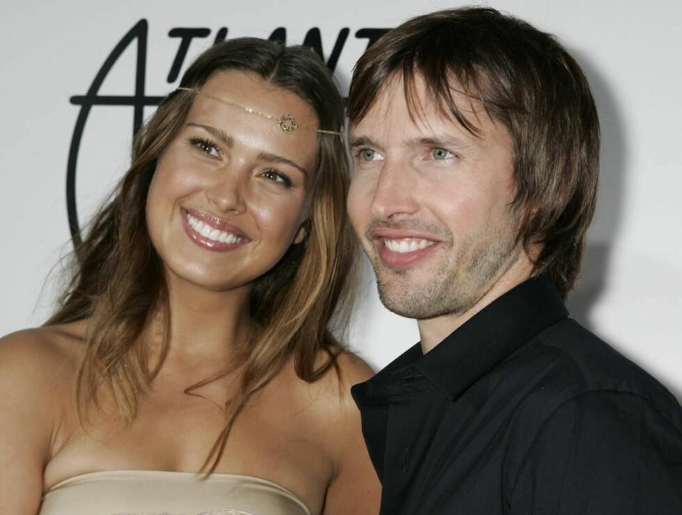 SPLITTER OPP? Forholdet mellom Petra Nemcova og James Blunt er ikke like intenst lenger... Foto: AP