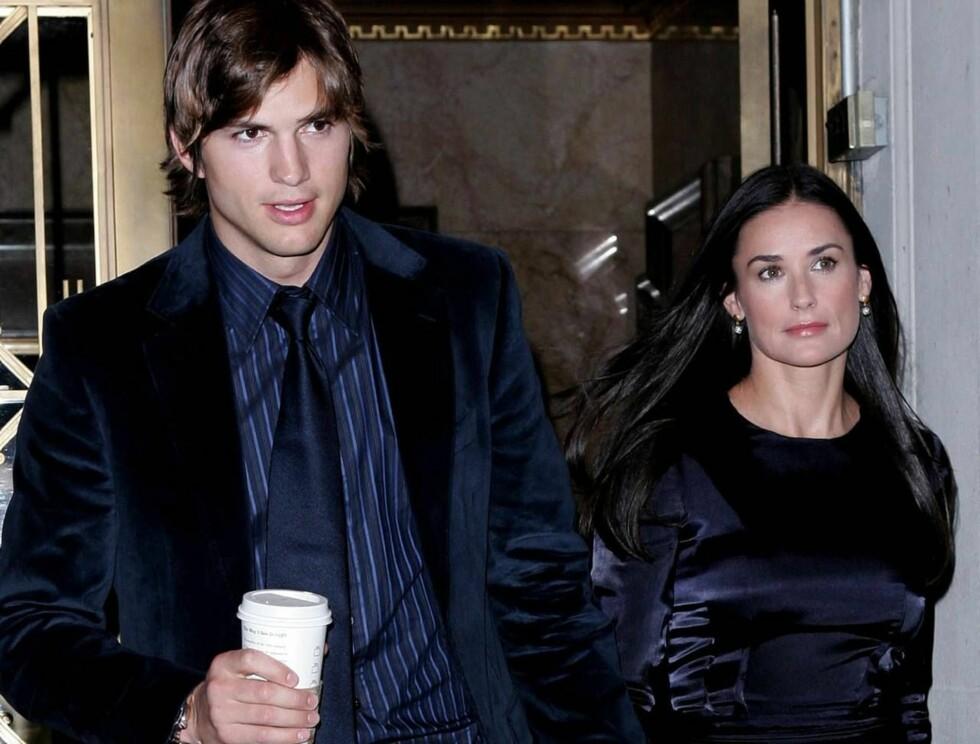 """HOFFNARR: Ashton Kutchers oppførsel på Windsor Castle hadde lite kongelig """"schwung"""" over seg. Foto: All Over Press"""