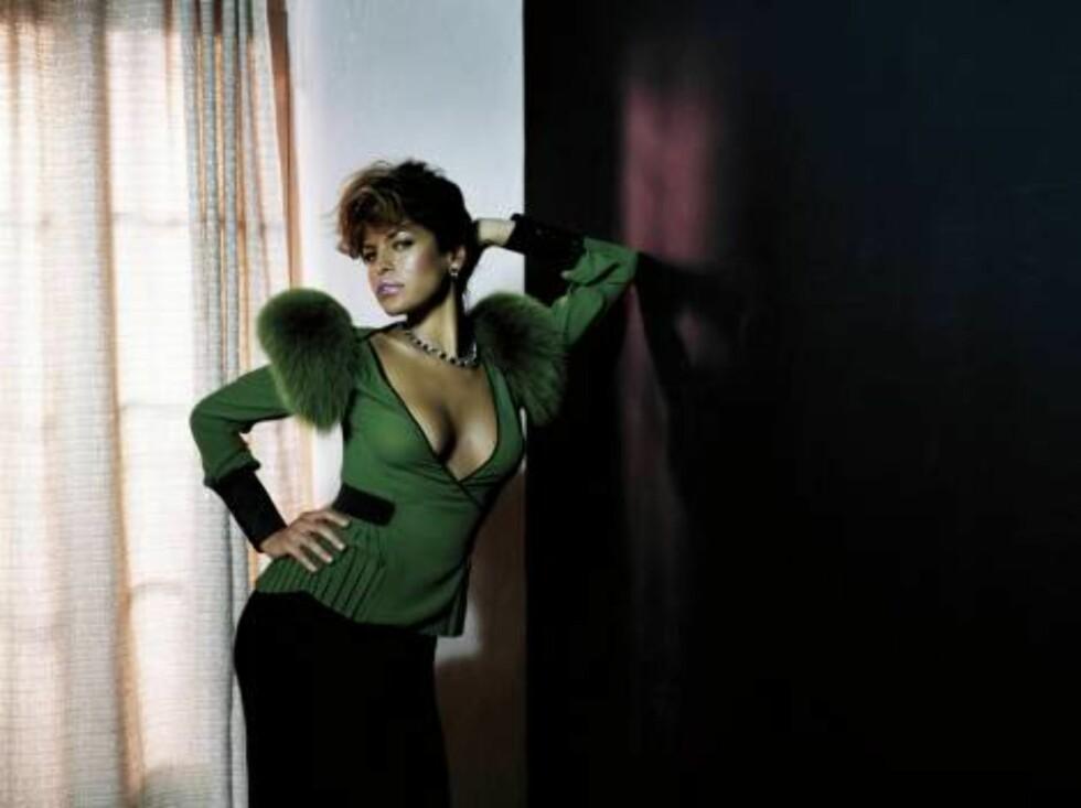 Eva Mendes i Flaunt Foto: Faksimile, Flaunt