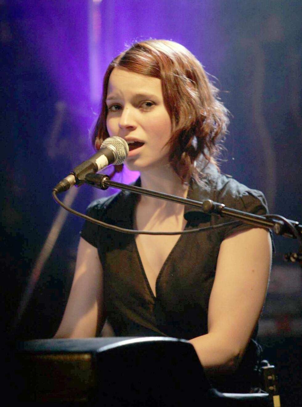 SOLO: Marit Larsen skal holde konserter i India. Foto: Werner Juvik/Se og Hør
